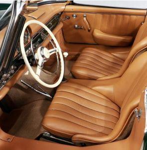 1960 Mercedes-Benz 300 SL Roadster Interior Classic Driver