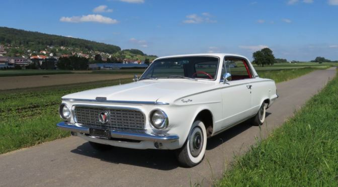 "Classic Car Nostalgia: ""1963 Plymouth Valiant"""