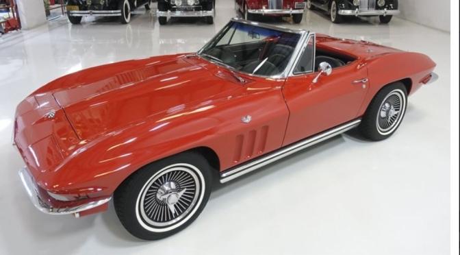 """Classic Cars: """"1965 Corvette L76 Stingray"""""""