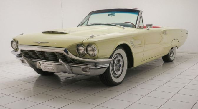"Classic Car Nostalgia: ""1965 Ford Thunderbird Convertible"""