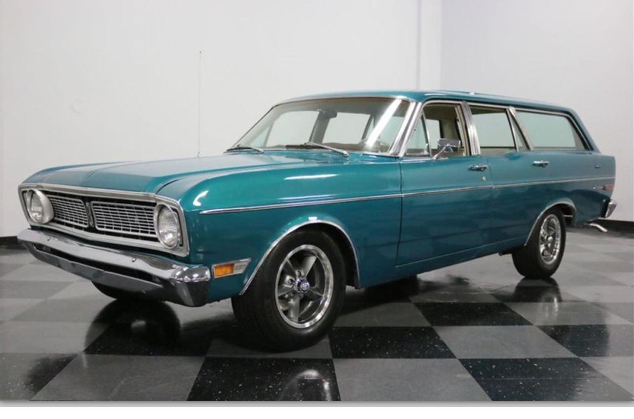 Classic Cars 1968 Ford Falcon Futura Wagon Boomers Daily