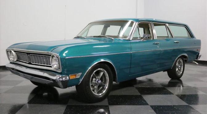 """Classic Cars: """"1968 Ford Falcon Futura Wagon"""""""