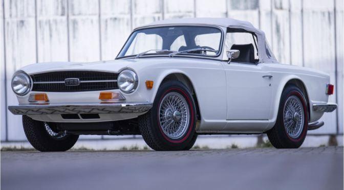 "Classic Car Nostalgia: ""1968 Triumph TR6"" – 1st Year (Classic Driver)"