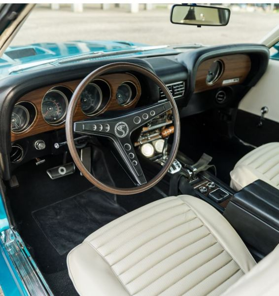 1969 Ford GT350 - H interior Classic Driver