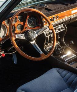 1970 Fiat Dino 2400 Coupé Interior Classic Driver