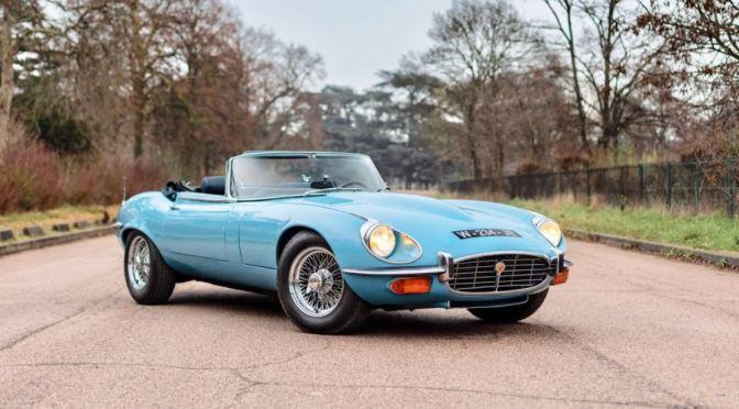 "Automobile Nostalgia: ""1971 Jaguar E-Type SIII Roadster"" (Classic Driver)"