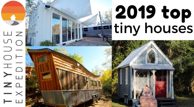 "Home Design: The ""Top Tiny Houses Of 2019"" (Video)"