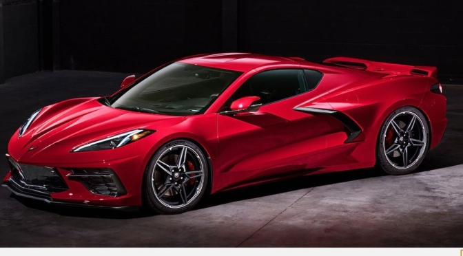 "New American Cars: ""2020 Corvette C8"",  Mid-Engine With Retractable Hardtop"