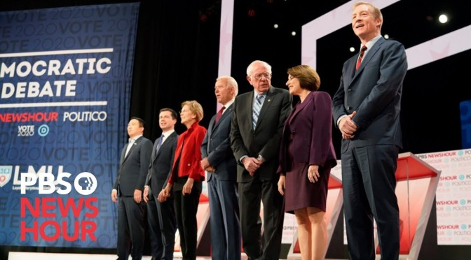 Politics: Key Moments From 6th Democratic Debate (PBS Video)