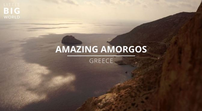 "Top New Travel Videos: ""Amazing Amorgos"" In Greece"" By Joerg Daiber"