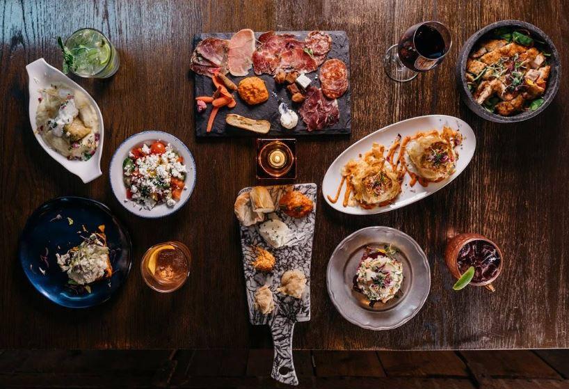 Ambar Balkan Cuisine Washington DC menu items 2019