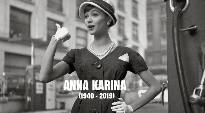 1960's Icons: Remembering French New Wave Actress Anna Karina (1940-2019)