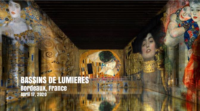 """Art: """"Bassins de Lumières"""" Opens As Largest Digital Art Center In World, Bordeaux (April 17, 2020)"""