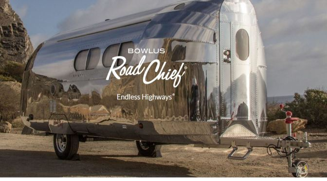 "Travel Trailers: ""Bowlus Road Chief"" Is Light Weight, High Tech Luxury"