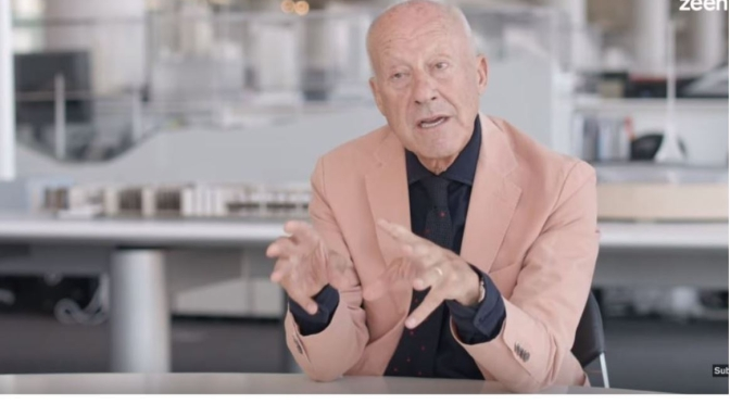 Interviews: 84-Year Old British Architect Norman Foster On His First High-Tech Building (Video)