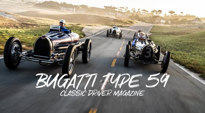 "1930'S Racing Cars: Amazing ""Bugatti Type 59"" Reunion (Classic Driver)"