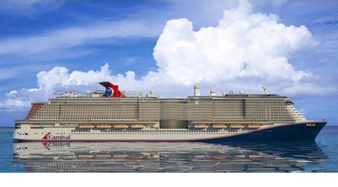 "Travel: Innovations Inside Carnival's ""Mardi Gras"" (2020), The Largest Cruise Ship Ever (WSJ Video)"