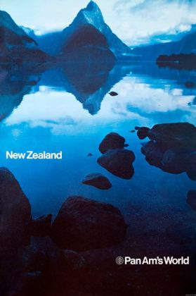 Chermayeff & Geismar PanAm Travel Posters New Zealand