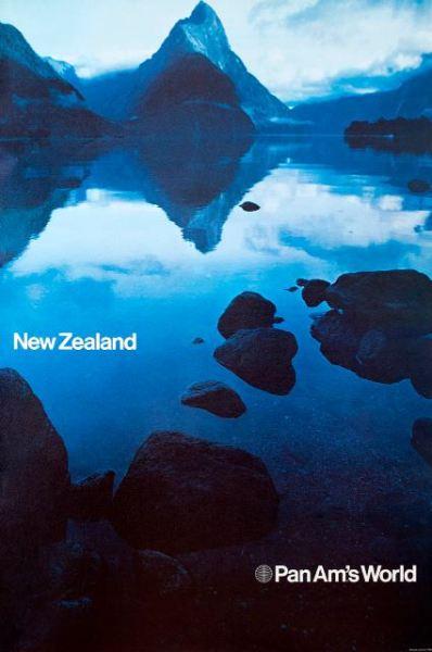 Chermayeff & Geismar PanAm Travel Posters New Zealand