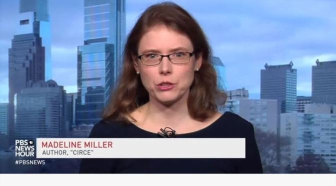 "Interviews: ""Circe"" Author Madeline Miller (Video)"