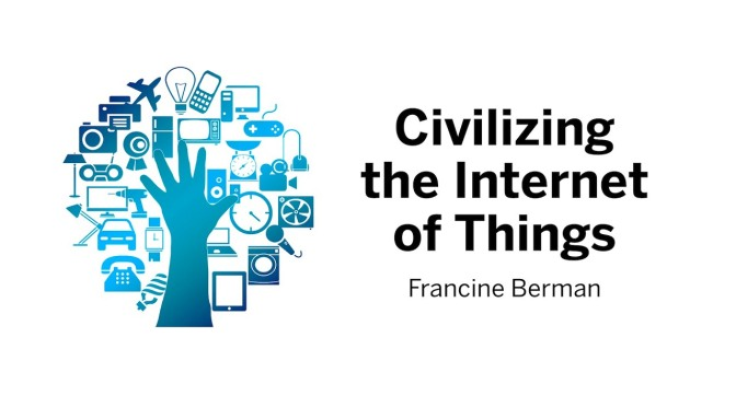 "Technology Lectures: ""Civilizing The Internet Of Things"" (Harvard Video)"