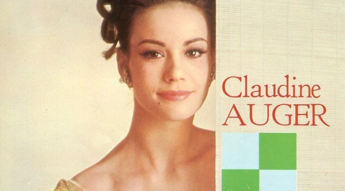 """1960's Cinema Icons: Remembering French """"Bond Girl"""" Claudine Auger (1941 -2019)"""
