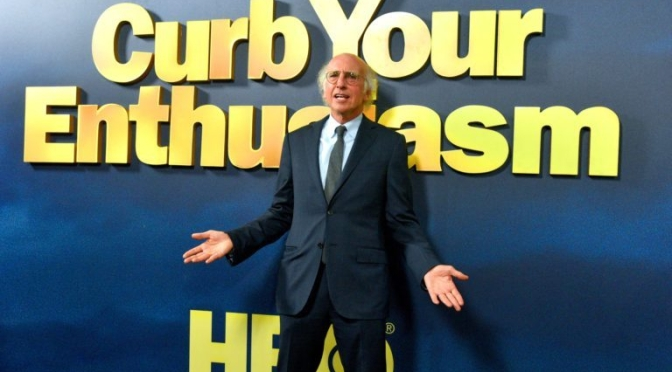 "Entertainment: 72-Year Old Larry David Returns For 10th Season In ""Curb Your Enthusiasm"" (Trailer)"