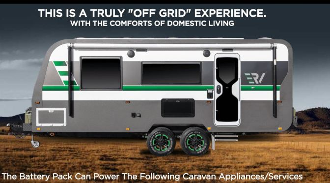 "Top New Camper Trailers: All-Electric ""ERV"" From Retreat Caravans"