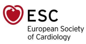 European Society of Cardiology ESC