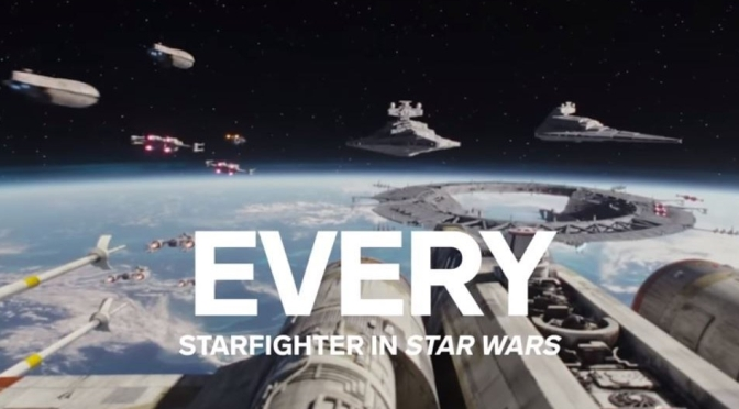 "Movie Insider: ""Every Starfighter In Star Wars Explained By Lucasfilm"" (WIRED Video)"