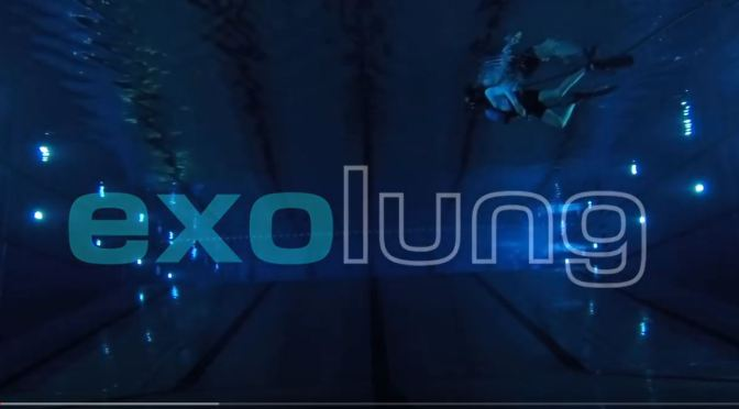 "Innovations: ""ExoLung"" Tankless Underwater Diving System (Video)"