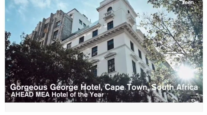 "Top Hotels: ""Gorgeous George Hotel In Cape Town, South Africa"