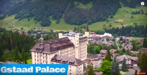 Gstaad Palace Hotel Switzerland Luxury Architecture Video December 18 2019