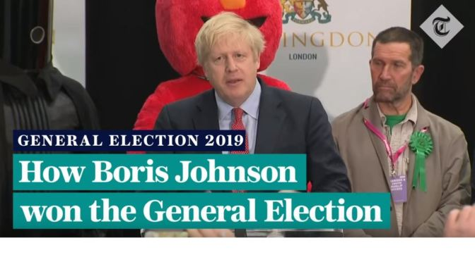 "British Politics: ""How Boris Johnson Won The 2019 General Election"" (Telegraph Video)"