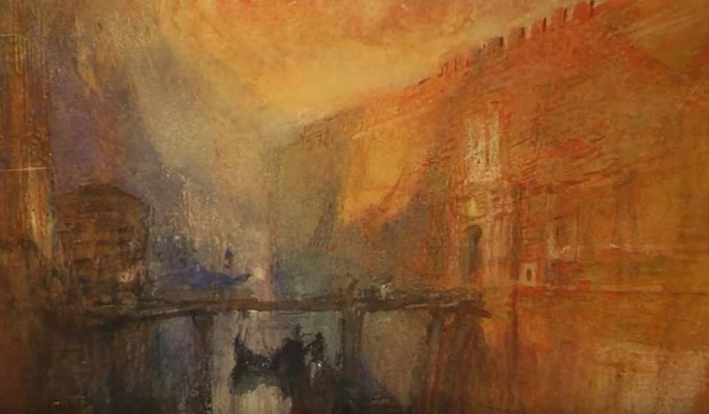 J.M.W. Turner Watercolor Paintings Exhibitions PBS Newshour December 26 2019