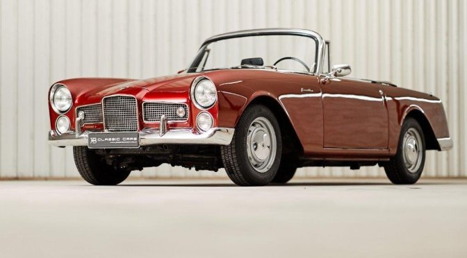 "Nostalgia: ""1961 Facel Vega Facellia FA Cabriolet"" (Classic Driver)"
