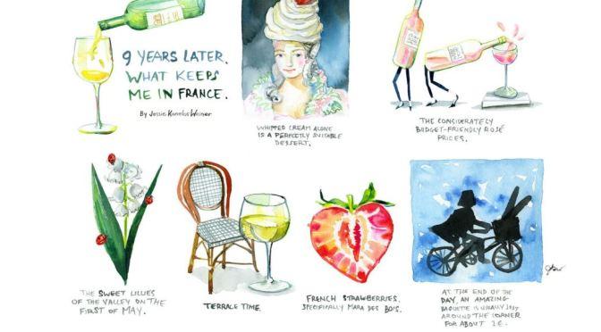 Profiles: Franco-American Illustrator Jessie Kanelos Weiner