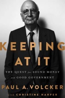 Keeping At It Paul Volcker