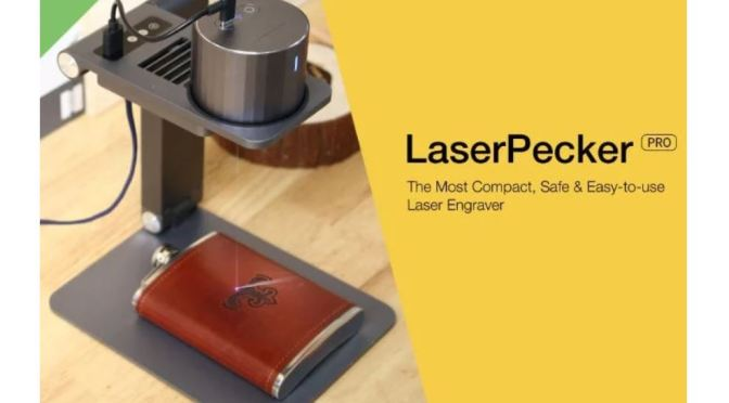 "New Innovative Products: Portable ""LaserPecker Pro"" Engraves Almost Anything Automatically"
