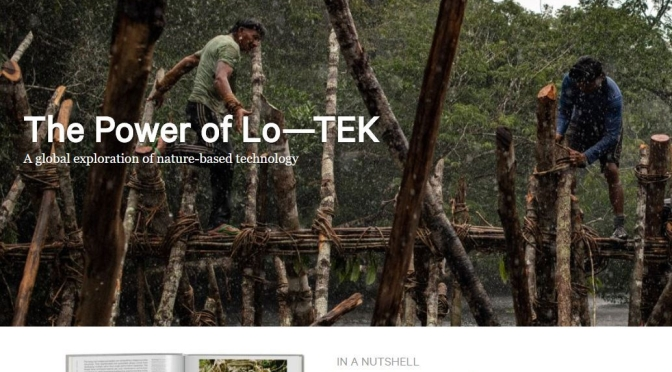 "Architecture & Design Books: ""Lo-TEK Design By Radical Indigenism"" By Julia Watson (Taschen)"