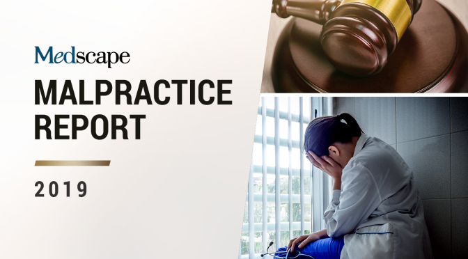 "Medical Lawsuits: General Surgery And Urology Top List In ""2019 Medscape Malpractice Report"""