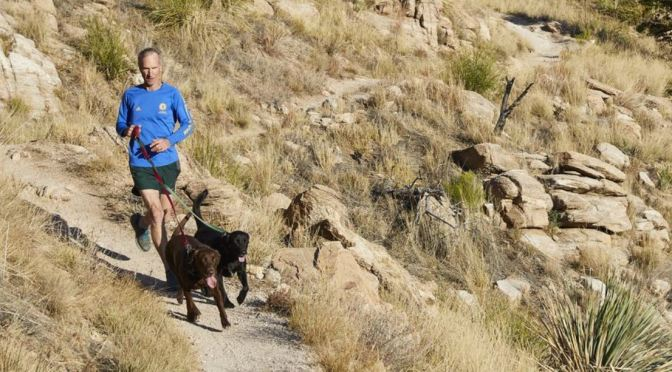 Boomers Fitness: 63-Year Old Arizona Runner Hits Trail With His Dogs (WSJ)