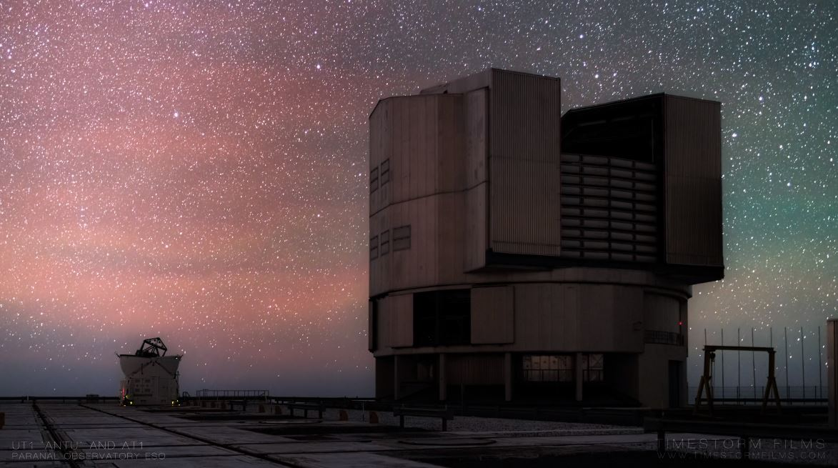 Observatories European Southern Observatory ESO in Chile timelapse video by Martin Heck 2019