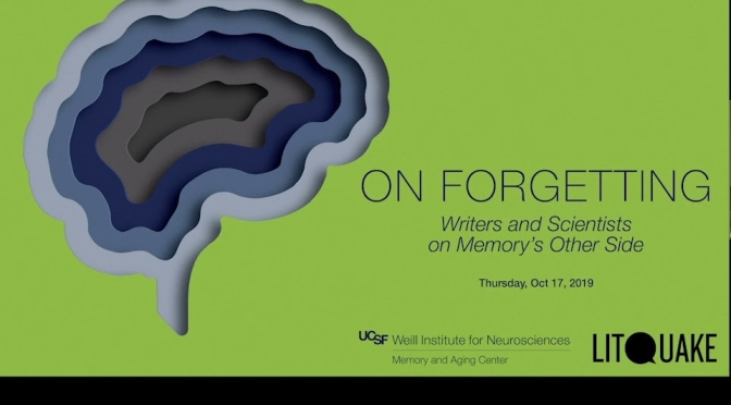 """Podcasts: Poet Jane Hirshfield & Other Writers Discuss """"Memory And Forgetting"""" (UCSF)"""