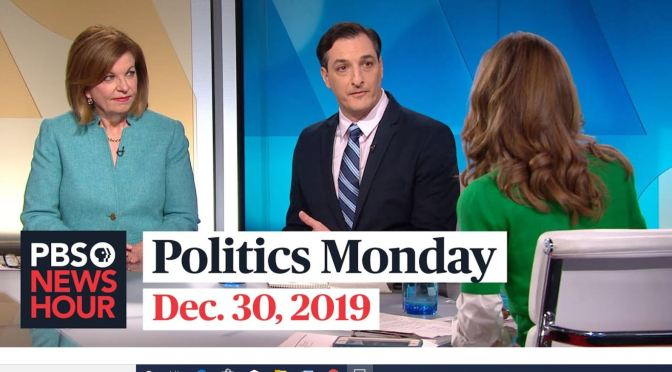 "News: Susan Page And Domenico Montaro On ""Politics Monday"" (PBS)"