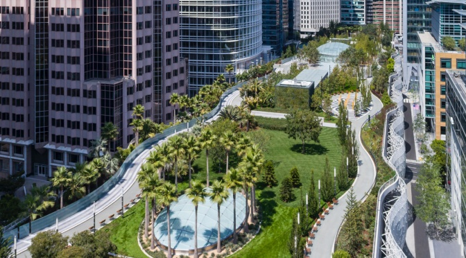 "Destinations: ""Salesforce Park"" In San Francisco Is ""Floating Utopia"""