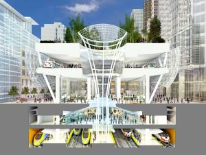 Salesforce Park Transit Center