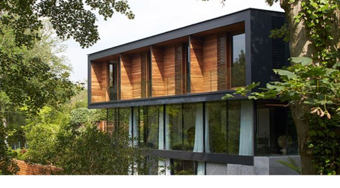 "Architects: Stanton Williams' ""Fitzroy Park House"" Best English Home 2019 (Modern House)"