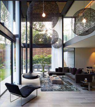 Stanton Williams Fitzroy Park House London interior 2019