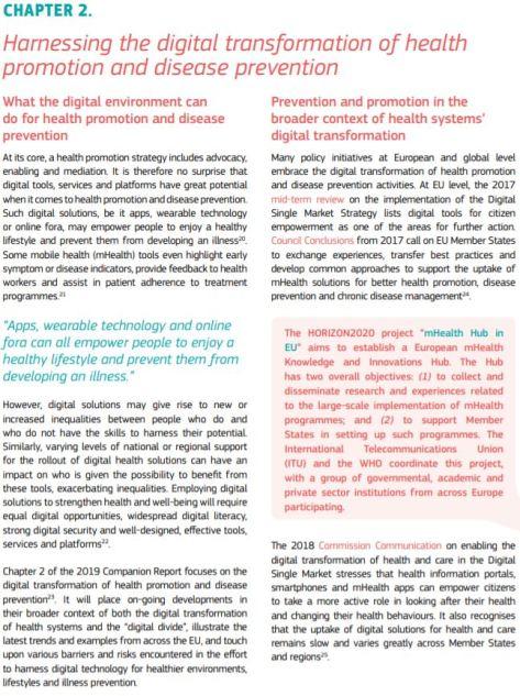 State of Health in the EU Companion Report 2019